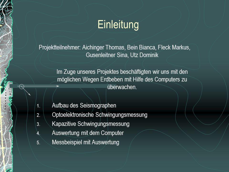 3.Kapazitive Schwingungsmessung 3.3.