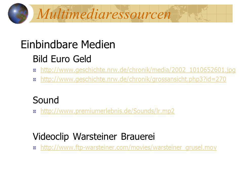 Multimediaressourcen Einbindbare Medien Bild Euro Geld http://www.geschichte.nrw.de/chronik/media/2002_1010652601.jpg http://www.geschichte.nrw.de/chr