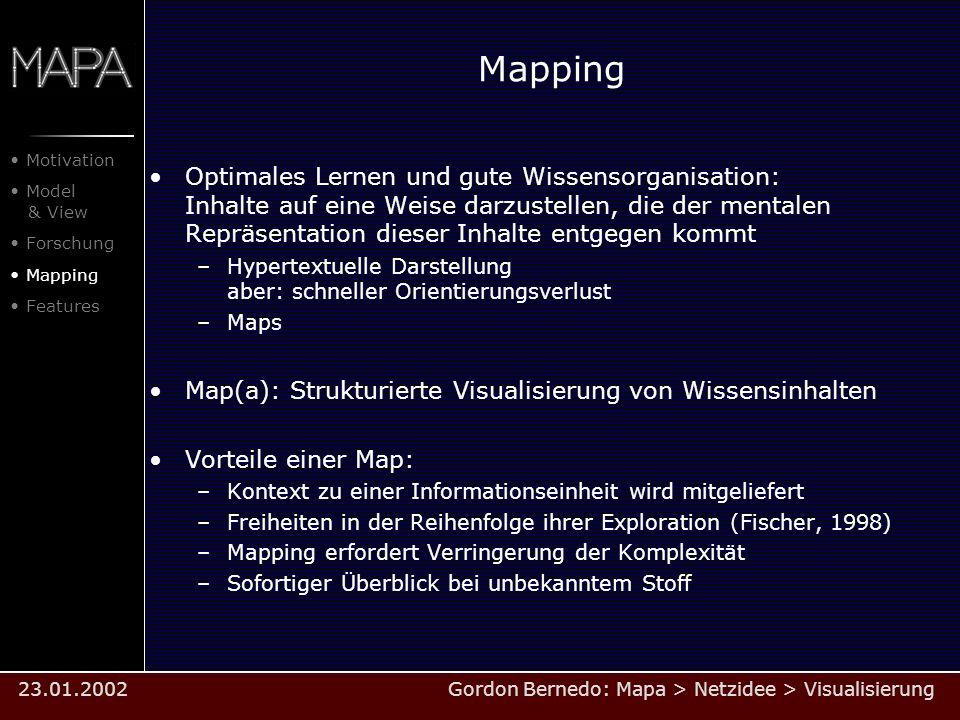 Mapping Optimales Lernen und gute Wissensorganisation: Inhalte auf eine Weise darzustellen, die der mentalen Repräsentation dieser Inhalte entgegen ko
