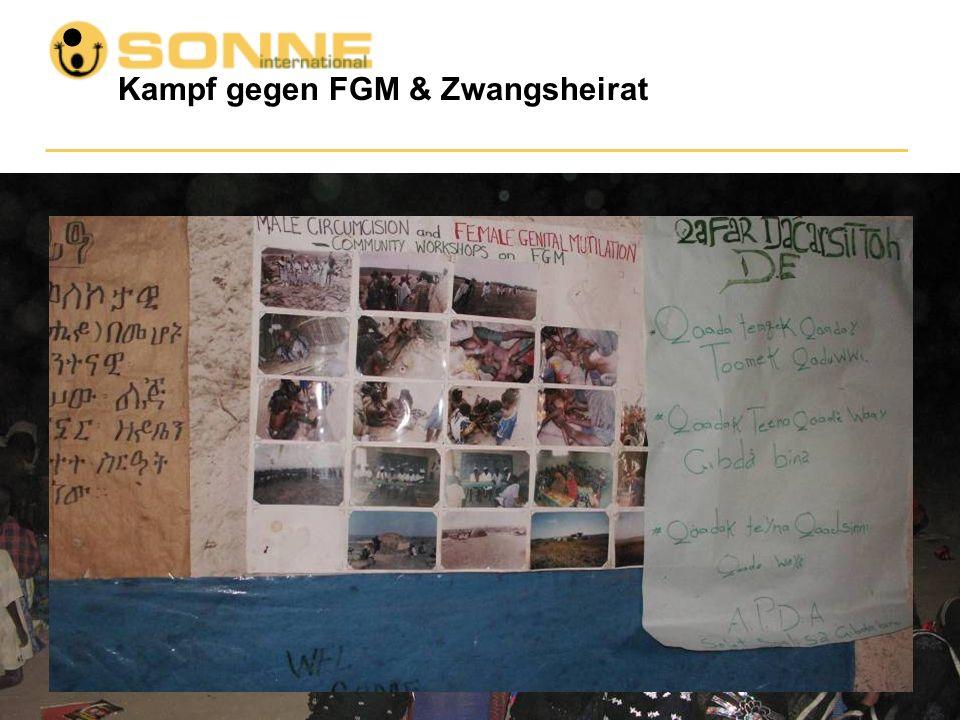 Kampf gegen FGM & Zwangsheirat... Zusammenarbeit mit religiösen Führern