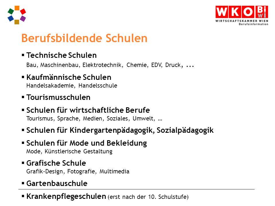 Technische Schulen Bau, Maschinenbau, Elektrotechnik, Chemie, EDV, Druck,...