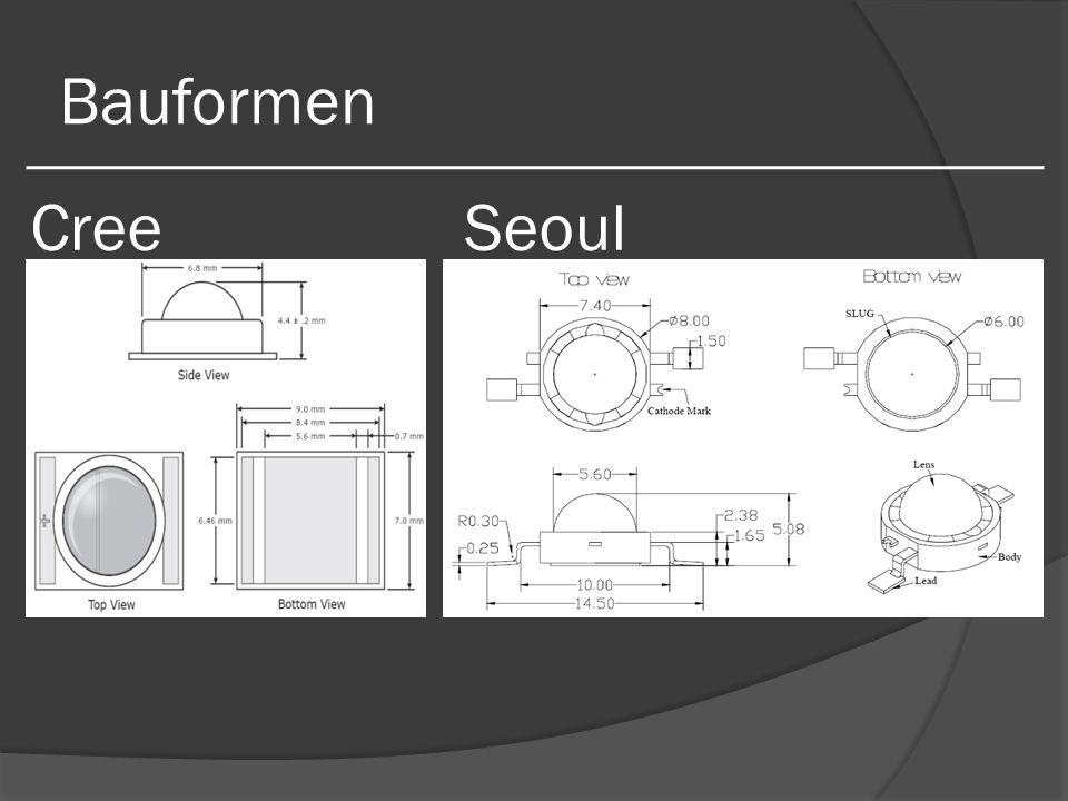 Bauformen Cree Seoul