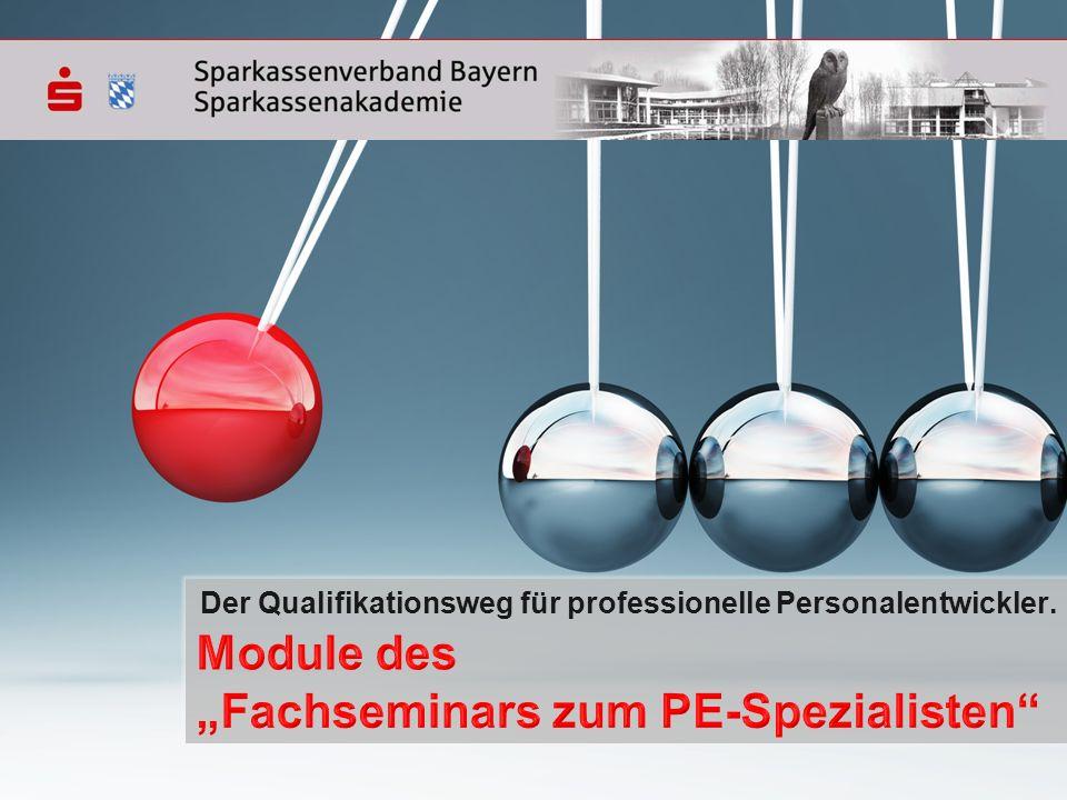 Der Qualifikationsweg für professionelle Personalentwickler.