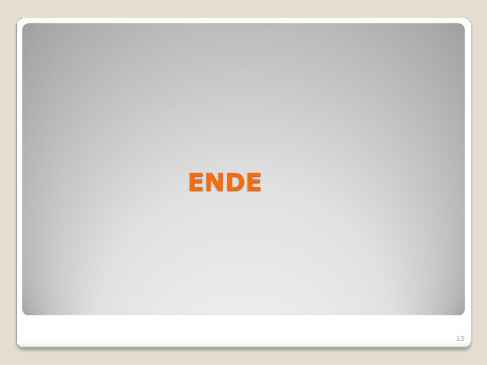 ENDE 13