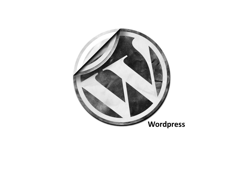 Wordpress…