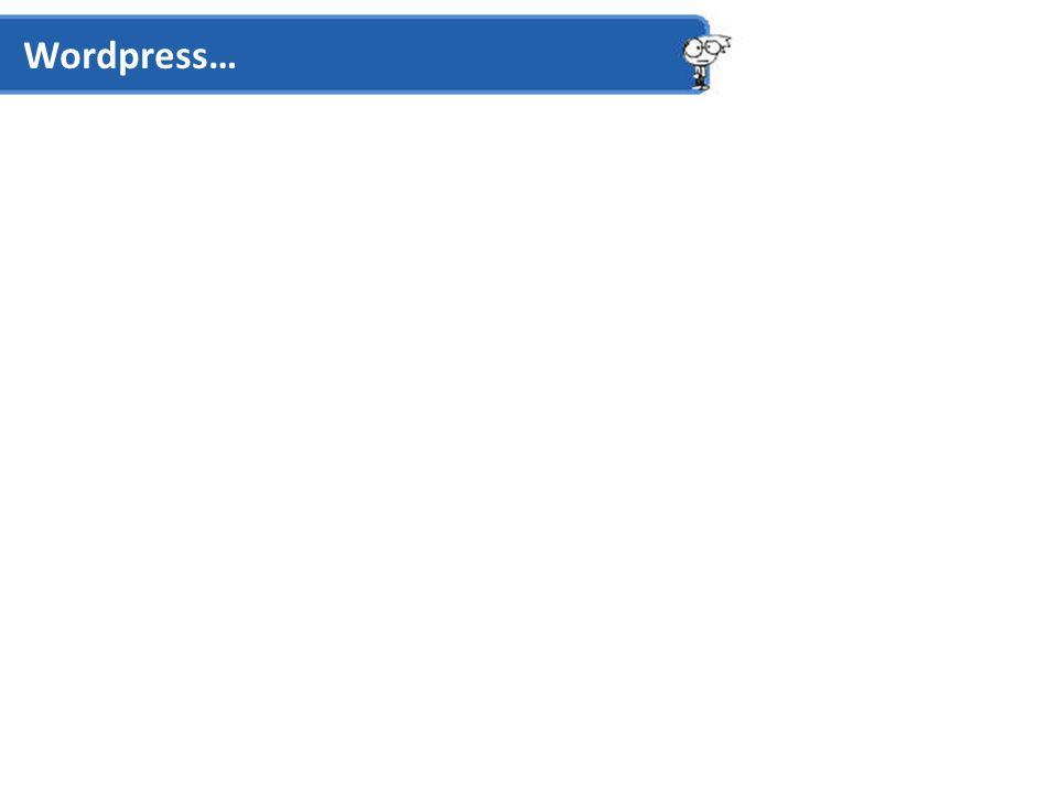 Wordpress – Standard Designs Header Main Page / Blog