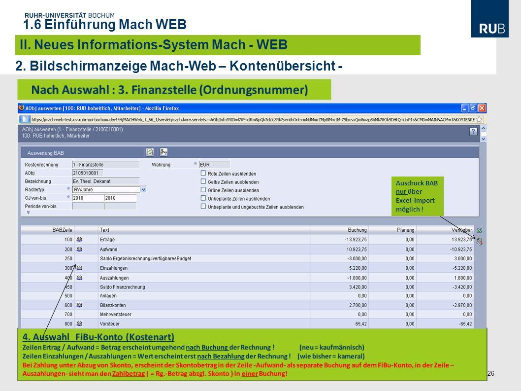 26 Projekt Doppik, A. Kaus / B. Nawroth| Informationen Zur Einführung der Doppik, Informationsveranstaltungen im Oktober/November 2010 2. Bildschirman