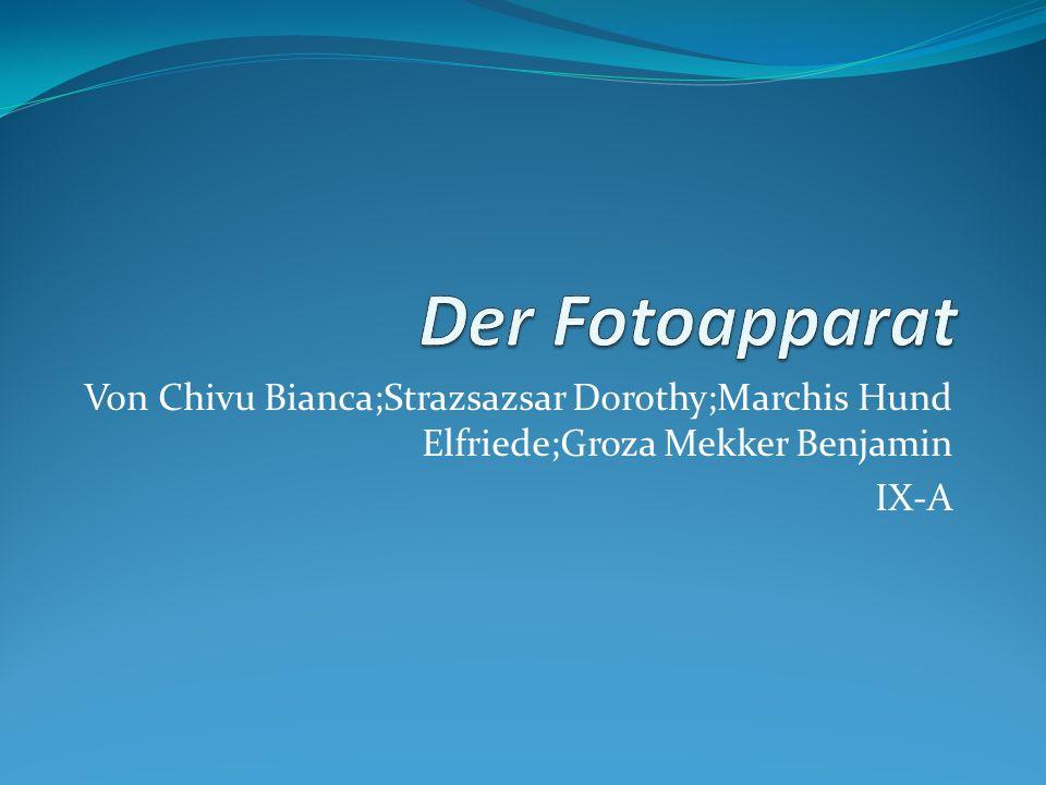 Von Chivu Bianca;Strazsazsar Dorothy;Marchis Hund Elfriede;Groza Mekker Benjamin IX-A