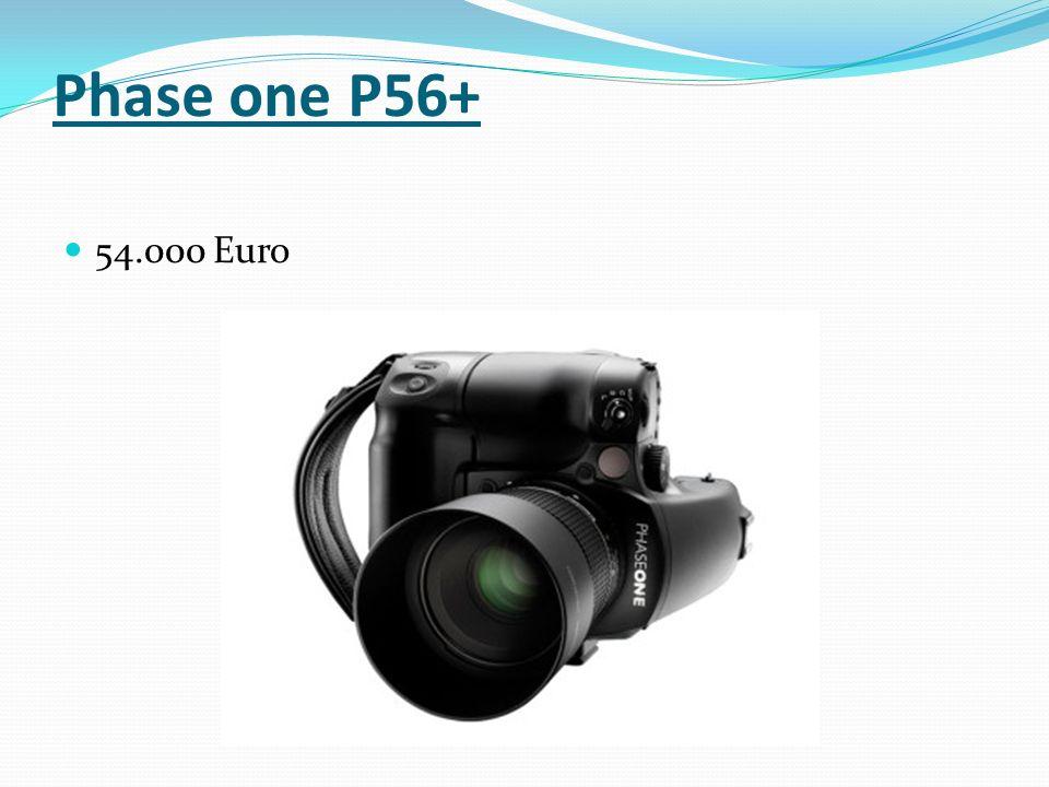 Phase one P56+ 54.000 Euro
