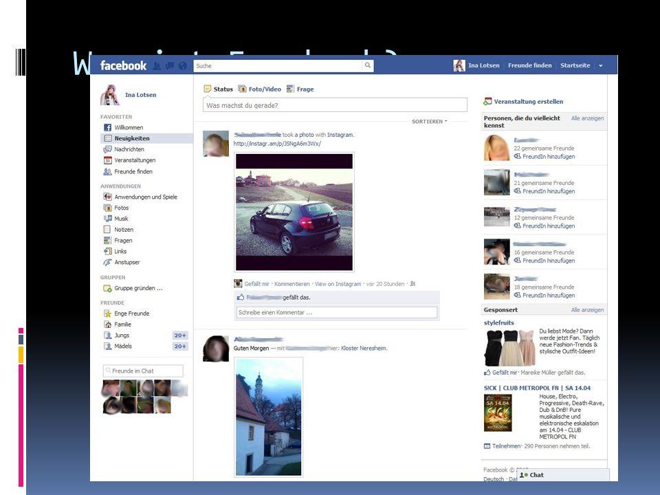 Was ist Facebook