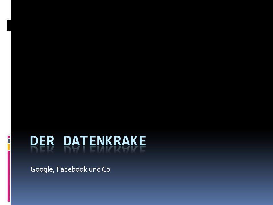Google, Facebook und Co