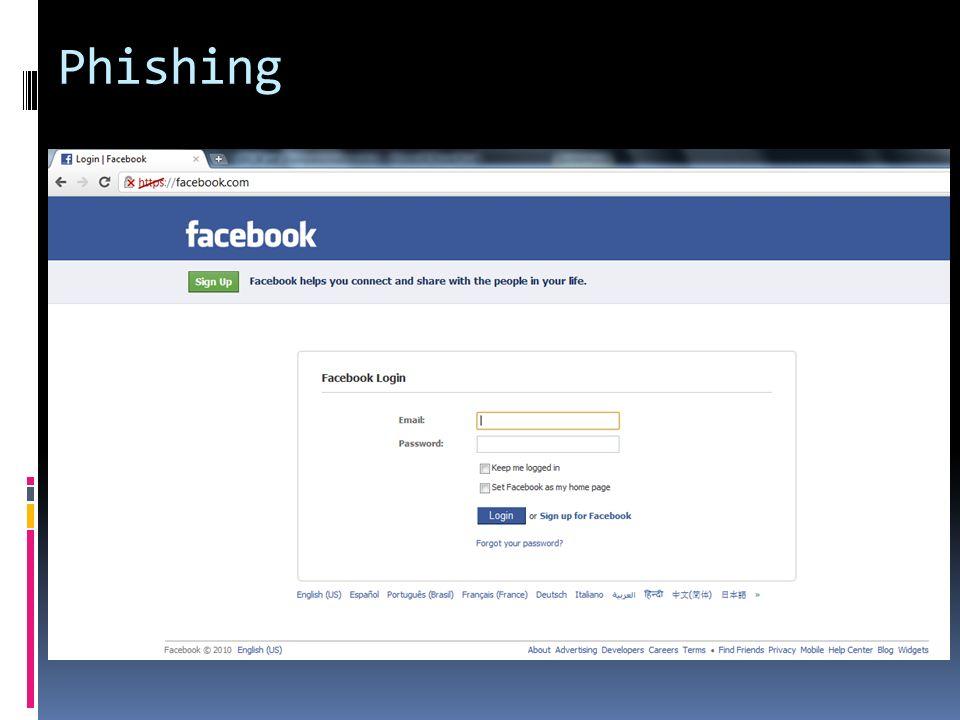 Aufbau einer URL http:// Protokoll www.Subdomain Kann alle Werte annehmen facebook.