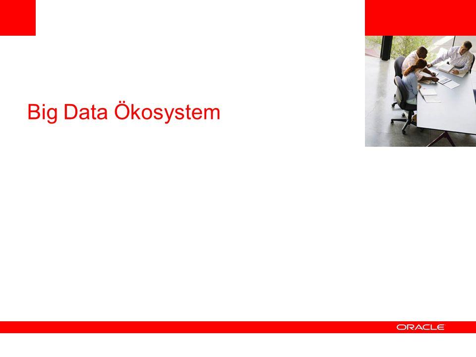 Big Data Appliance Mögliches Szenario Oracle Big Data Appliance Oracle Exadata InfiniBand Acquire OrganizeAnalyze Oracle Exalytics InfiniBand Oracle Big Data Connectors