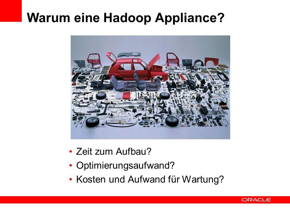 Big Data Appliance Hardware Überblick