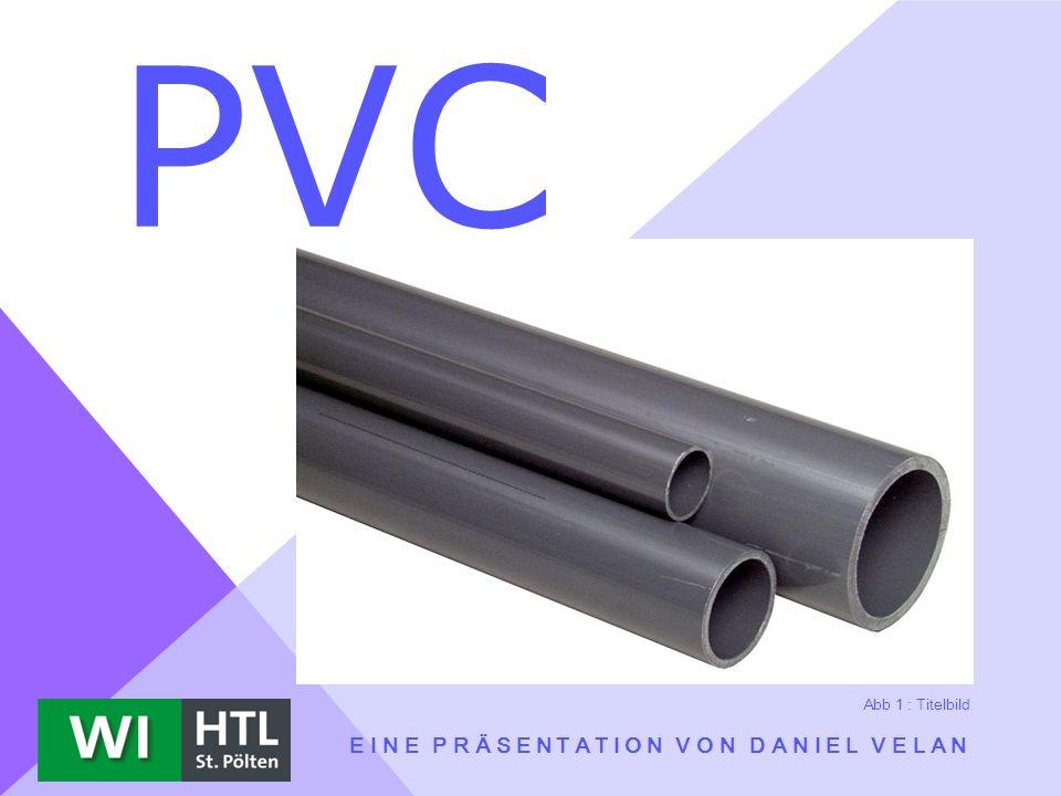 PVC EINE PRÄSENTATION VON DANIEL VELAN Abb 1 : Titelbild
