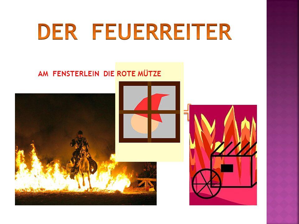 AM FENSTERLEIN DIE ROTE MÜTZE