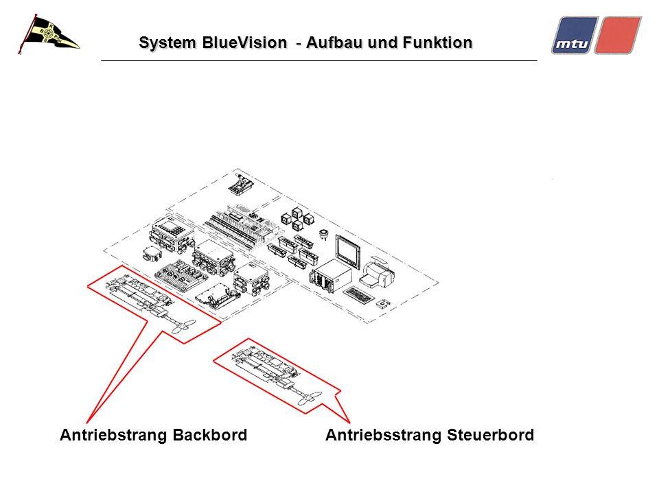 System BlueVision - Aufbau und Funktion Antriebstrang Backbord Antriebsstrang Steuerbord