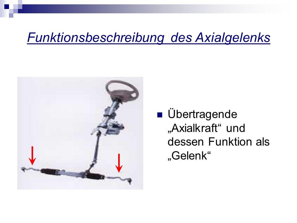 Funktionsbeschreibung der Axialgelenkmontagemaschine