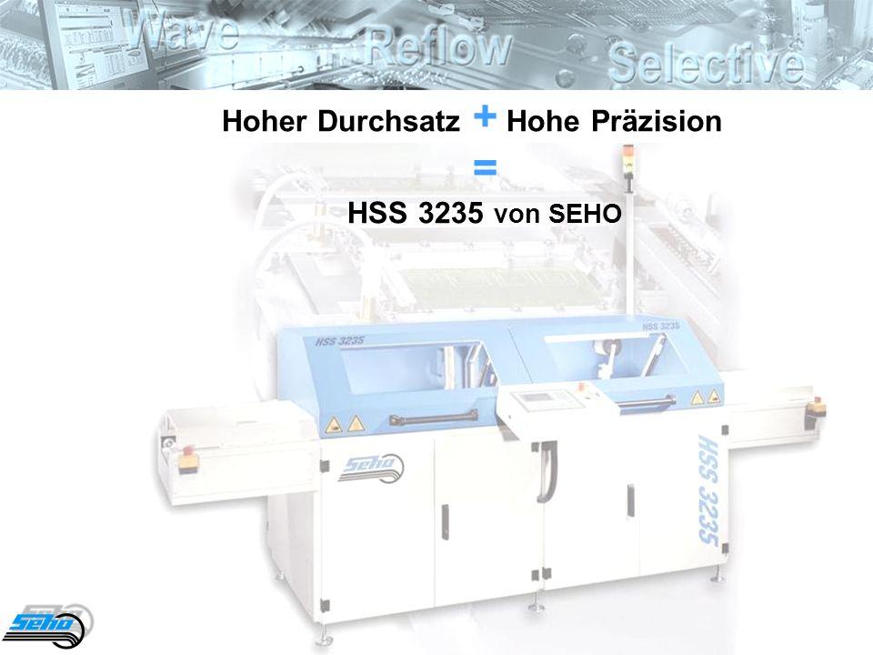 33 Hoher Durchsatz + Hohe Präzision = HSS 3235 von SEHO