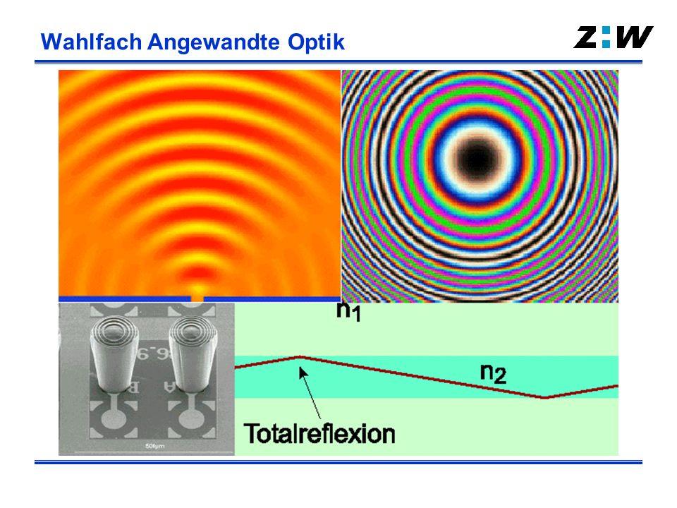 Angewandte Optik Materialbearbeitung Biosensorik Photonik