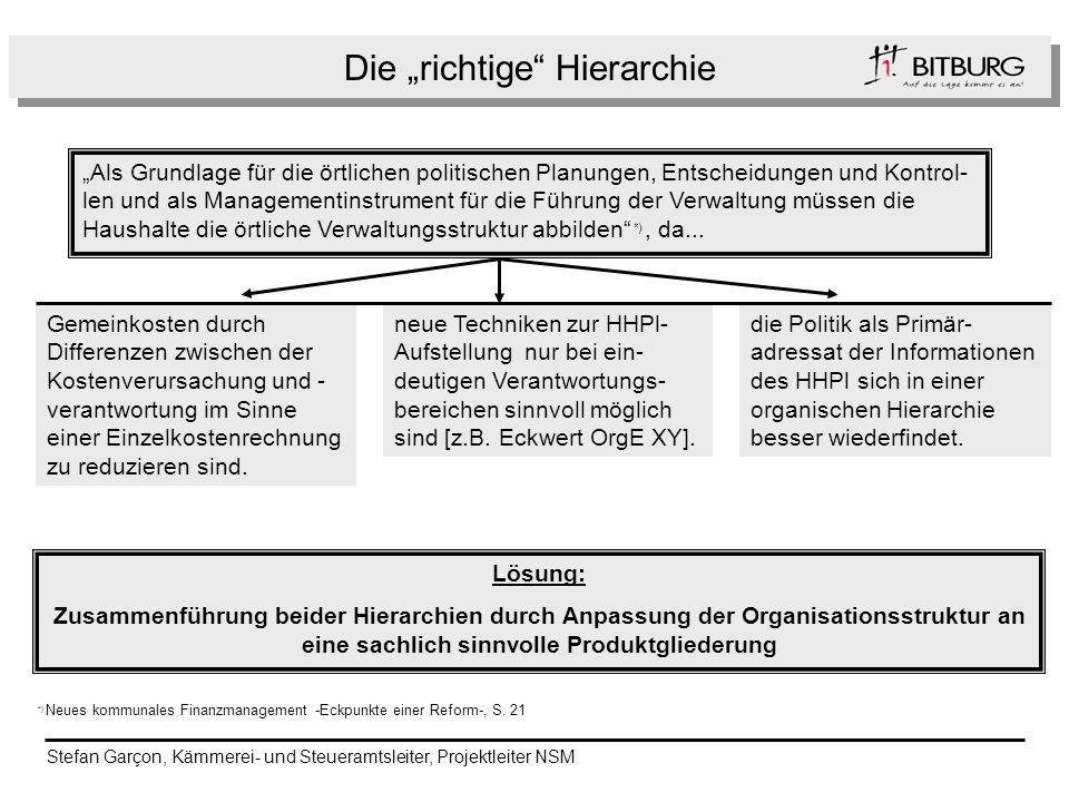h Als Grundlage für die örtlichen politischen Planungen, Entscheidungen und Kontrol- len und als Managementinstrument für die Führung der Verwaltung m