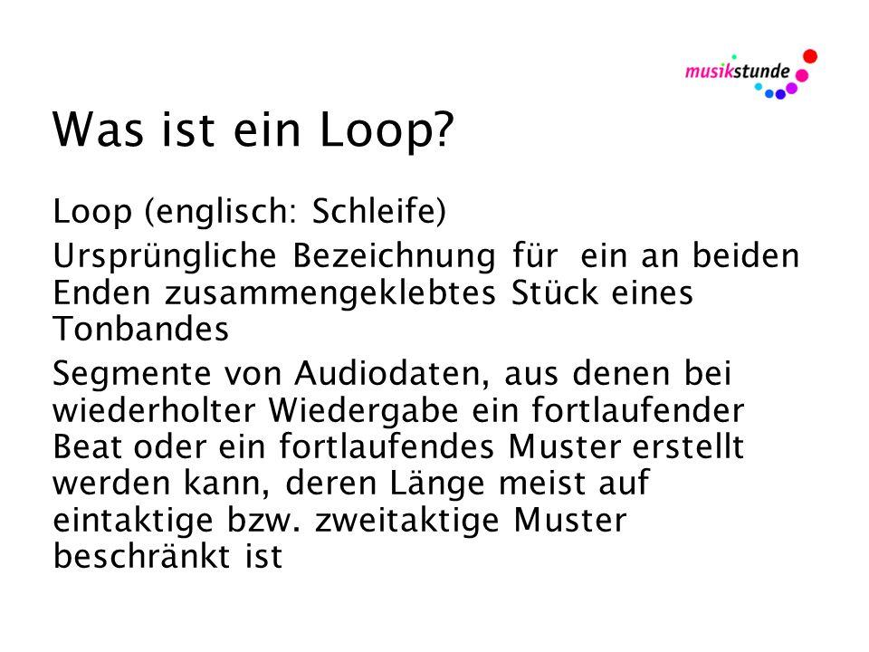 Was ist ein Loop.