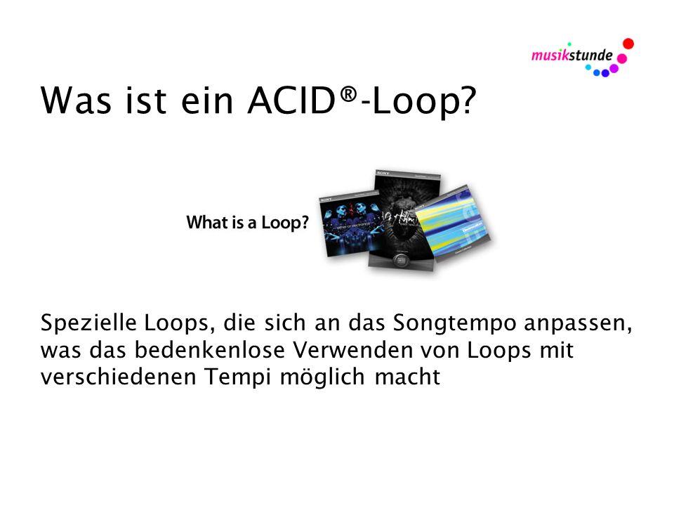 Was ist ein ACID®-Loop.