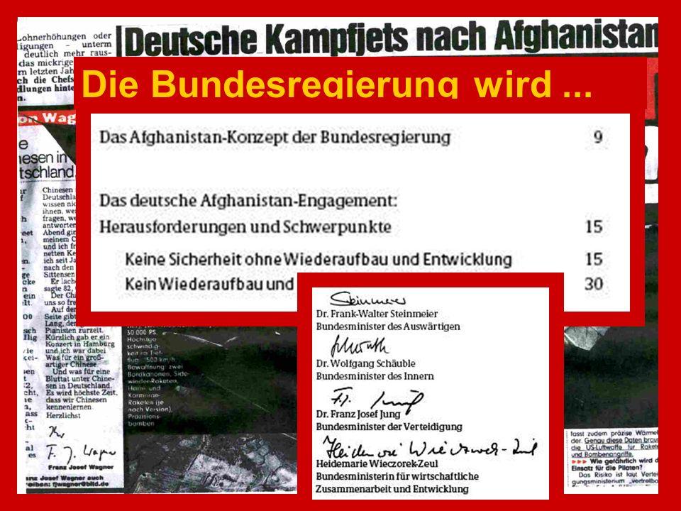 ....dass schon 65 Angehörige der Bundeswehr in Auslandseinsätzen ihr Leben verloren haben.
