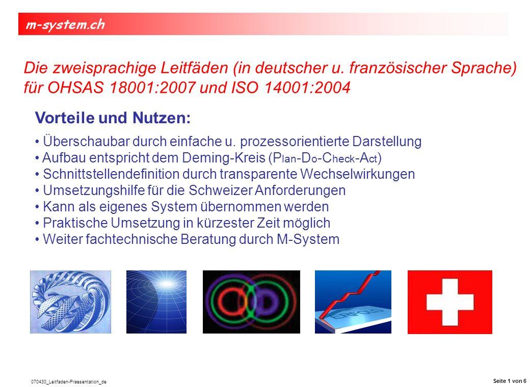 070430_Leitfaden-Praesentation_de Aufbau nach Deming cycle (PDCA) Seite 2 von 6
