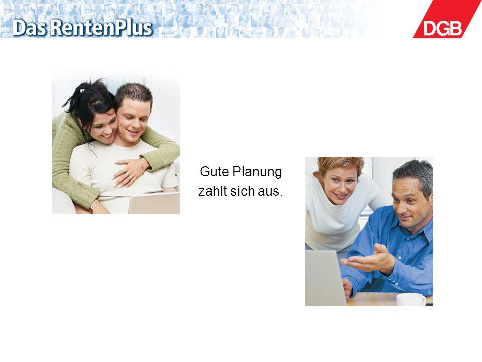 Vorteile Sondertarif Rentenversicherung Fondssparplan Anbieter www.das-rentenplus.de2 von 9 Stand: Januar 2011 Vorteile der Riester-Rente auf einen Blick »Die Einzahlungen werden mit staatlichen Zulagen gefördert.