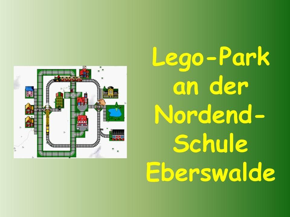 Lego-Park an der Nordend- Schule Eberswalde