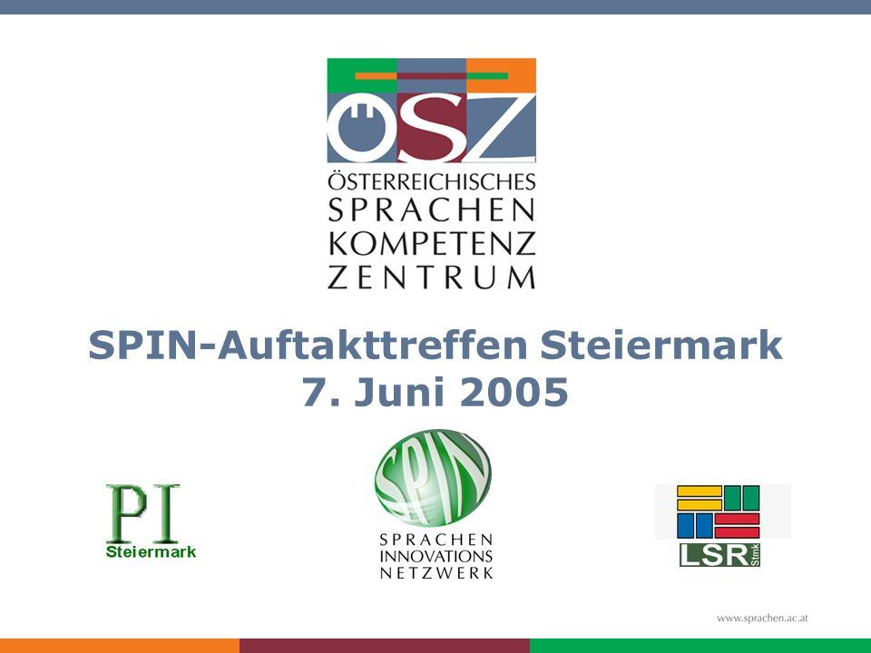 SPIN-Auftakttreffen Steiermark 7. Juni 2005