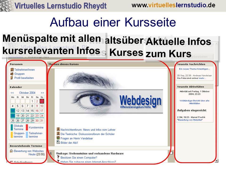 www.virtuelleslernstudio.de Journal: Rückmeldung durch den Lehrer