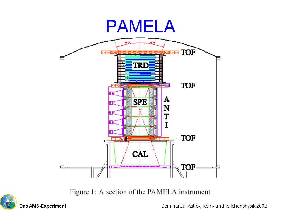 Das AMS-Experiment Seminar zur Astro-, Kern- und Teilchenphysik 2002 PAMELA