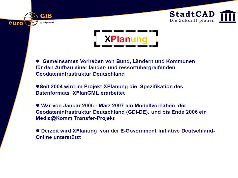 Gemeinsames Vorhaben von Bund, Ländern und Kommunen für den Aufbau einer länder- und ressortübergreifenden Geodateninfrastruktur Deutschland Seit 2004