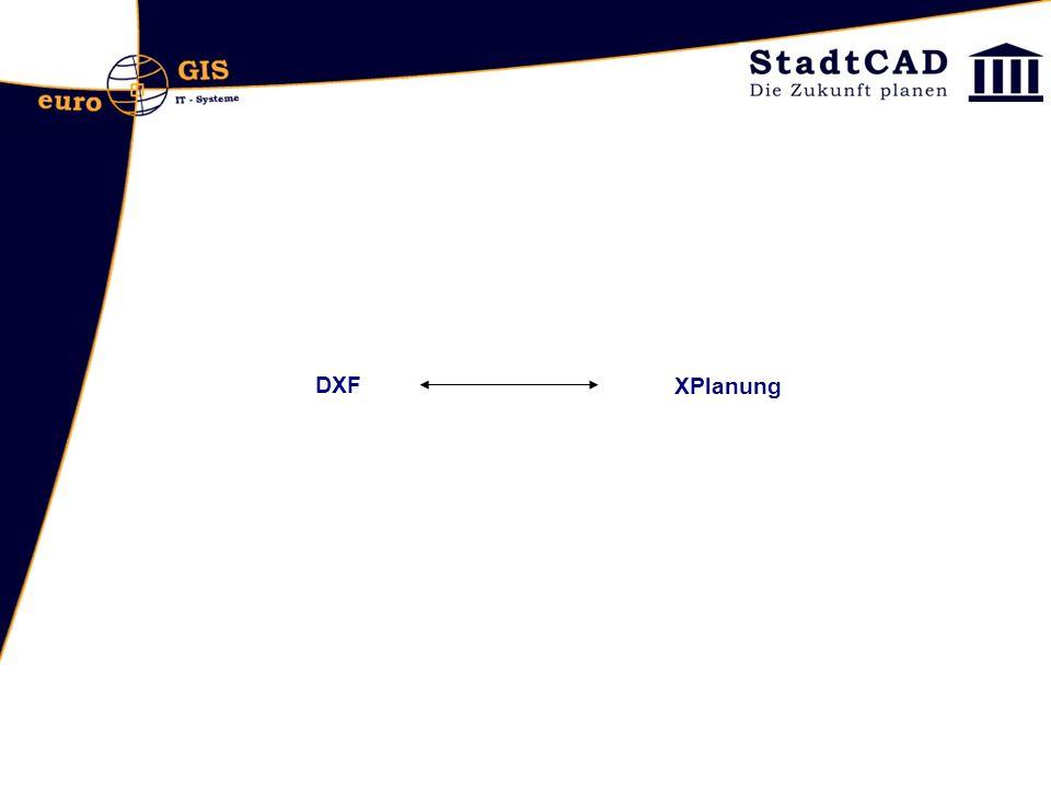 DXF XPlanung