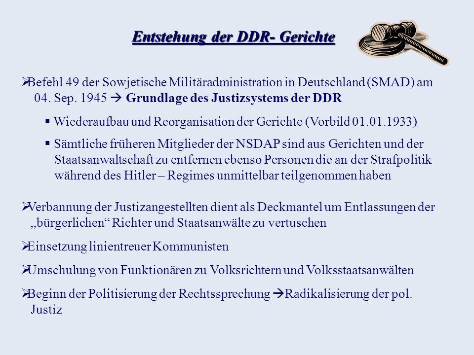 DDR - Richter Problematik Ehemalige DDR Bürger noch nicht rehabilitiert, DDR Richter noch nicht abgeurteilt Schwierige Beurteilung DDR Justizangestellter da Schwammige Beschreibung der Gesetze Bei Bedarf neu eingebrachte Regelungen der SED Gesetzes Wiederspruch (Gewissensentscheidung Parteilinie) Was hätten sie denn gemacht.