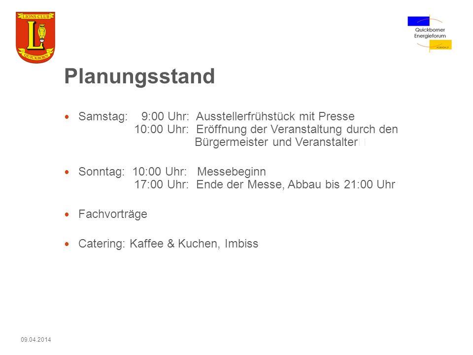 Marketing für die Messe Broschüren und Flyer Auflage Broschüre: 1500 Stck.