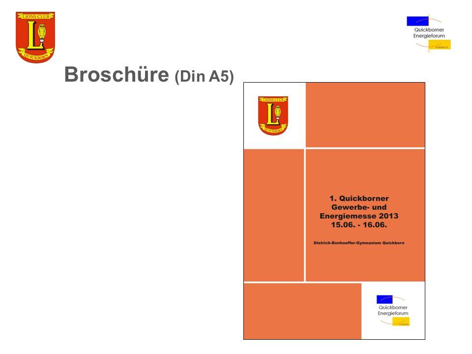 Broschüre (Din A5)