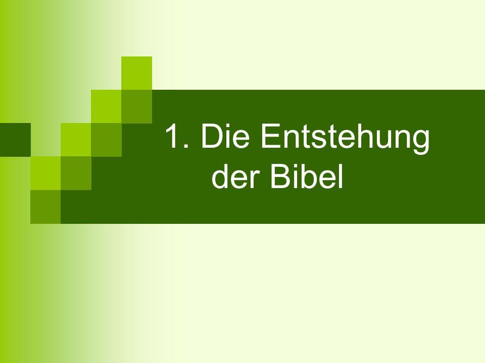 Kanonbildung (Kanon = Richtschnur) Neues Testament: Ende des 2.
