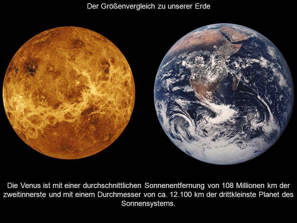 Der nächste Planet, welcher dann der Sonne am nächsten ist, ist Die Venus