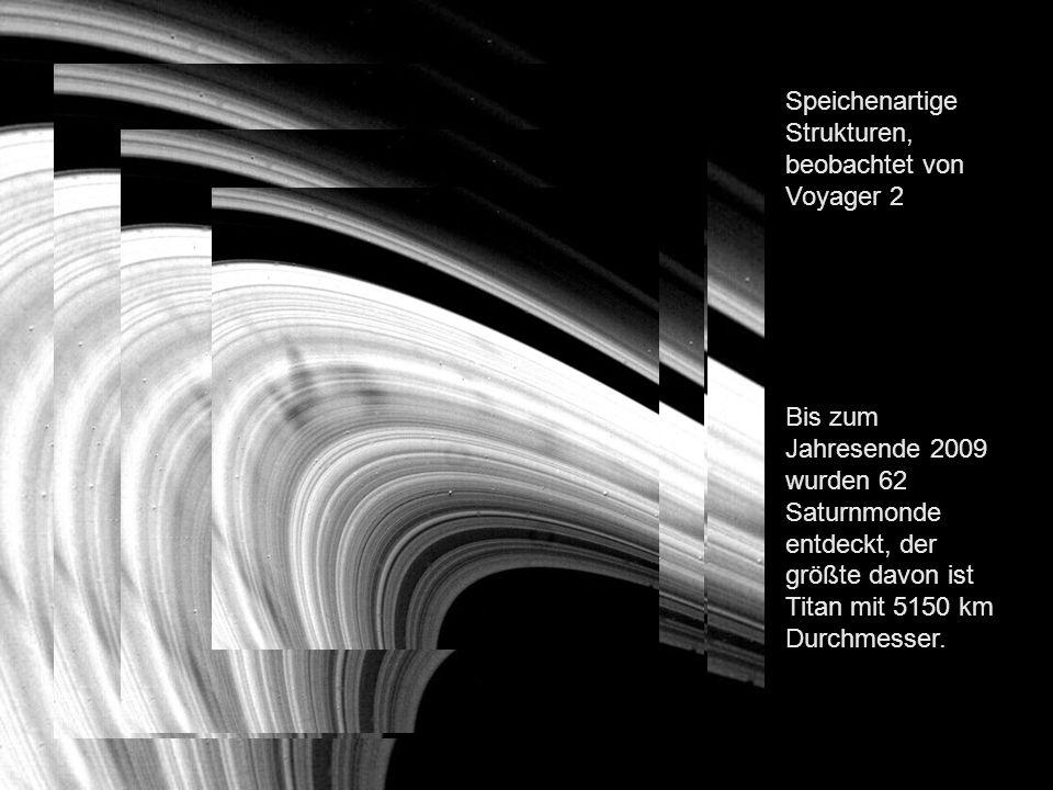 Der Saturn verdeckt die Sonne; von Cassini aufgenommen.