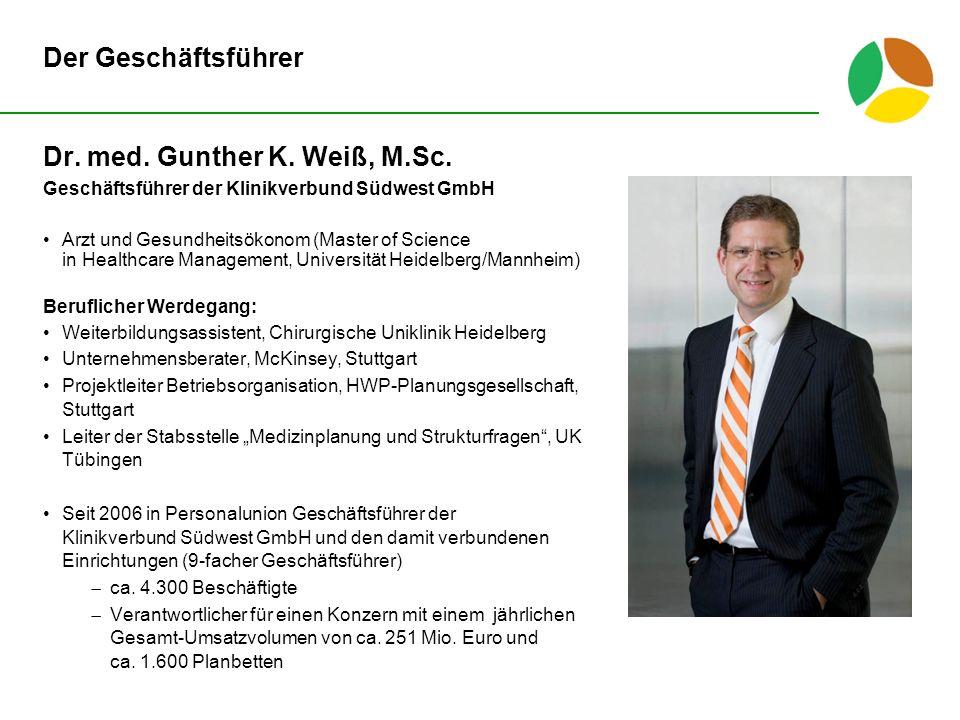 Dr.med. Gunther K. Weiß, M.Sc.