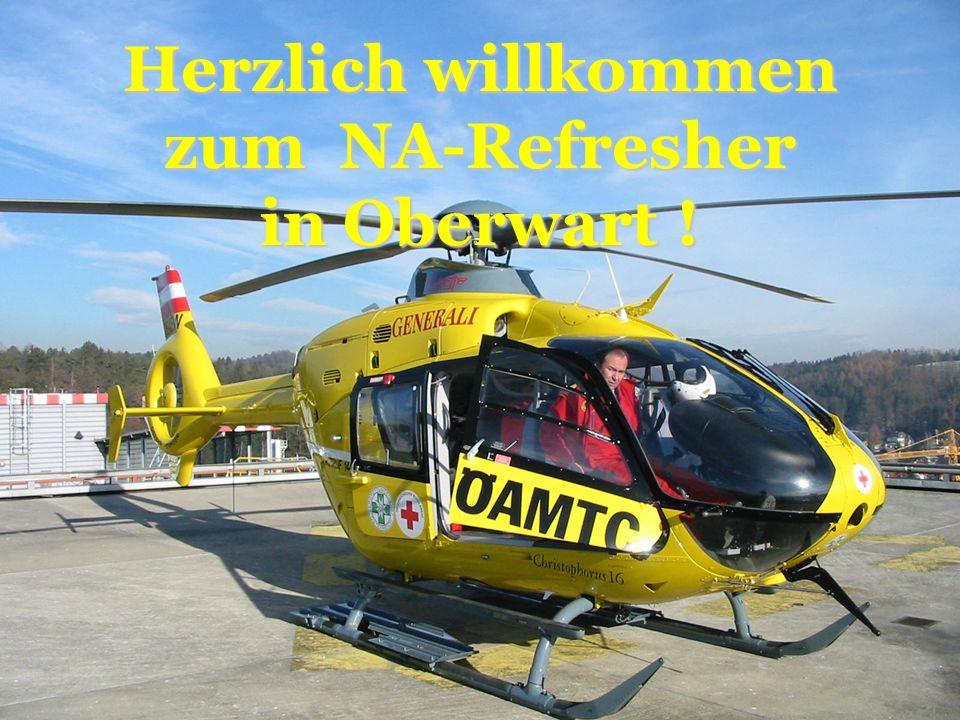 Christophorus 1620. Mai 2006 Herzlich willkommen zur Fortbildung in Oberwart ! Herzlich willkommen zum NA-Refresher in Oberwart !