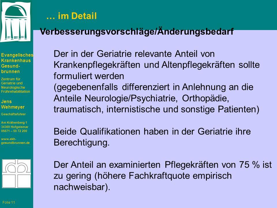 Evangelisches Krankenhaus Gesund- brunnen Zentrum für Geriatrie und Neurologische Frührehabilitation Jens Wehmeyer Geschäftsführer Am Krähenberg 1 343