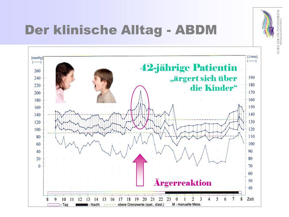 Zuweisung zur 24h-BD-Messung Wiederholt erhöhte Blutdruckwerte, v.a.