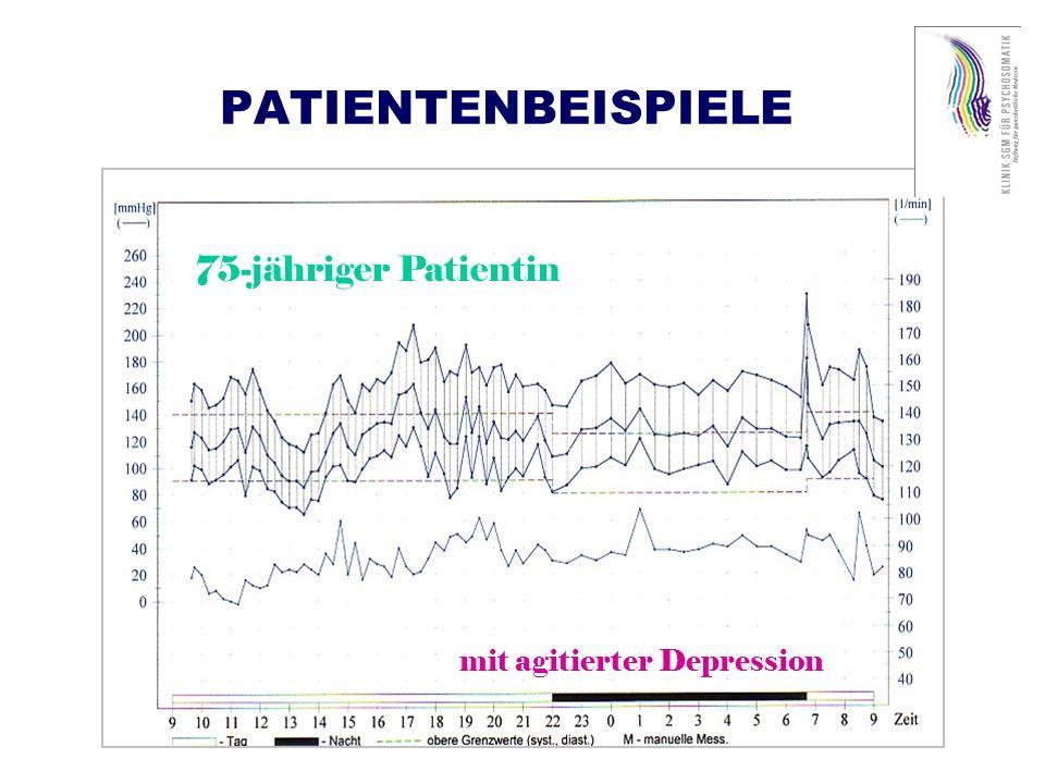 PATHOMECHANISMEN (gemäss Alan Rozansky, Circulation 1999) 1.Bei depressiven Zuständen/Störungen Neuroendokrin: Hypercortisolämie Gerinnung: erhöhte Plättchenaggregation = proatherogener und prothrombotischer Effekt Autonomes Nervensystem: Sympathikusüberaktivität, reduzierte vagale wie auch Baroreflexkontrolle 2.Bei Angstzuständen/Störungen Autonomes Nervensystem: Gesteigerte Sympathikusaktivität und reduzierte vagale wie auch Baroreflexkontrolle Verminderte Herzfrequenzvariabilität