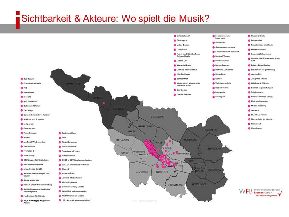 September 2011Kai Stührenberg Sichtbarkeit & Akteure: Wo spielt die Musik?