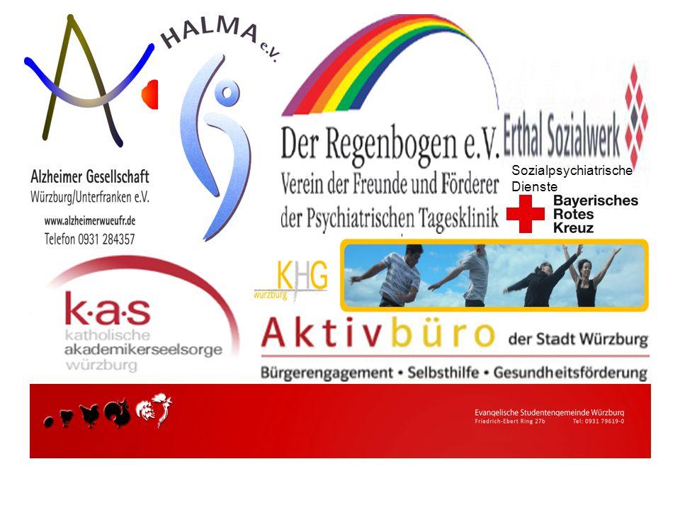 Alzheimer Gesellschaft Würzburg Unterfranken HALMA eV Hilfe für alte Menschen im Alltag Der Regenbogen eV, Verein der Freunde und Förderer der psychia