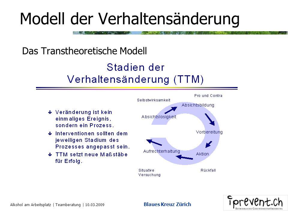 Alkohol am Arbeitsplatz | Teamberatung | 10.03.2009 Blaues Kreuz Zürich 12. Interventionsschema (3) o.k. oder nicht o.k Phase IV Standortsitzung Weite